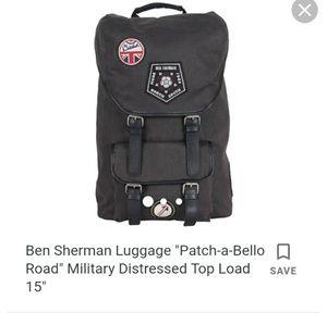 b76eaa5d4f Ben Sherman Bags - Ben Sherman Luggage military backpack